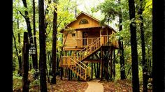 Tree House Interior, Tree House Plans, Kids Tree Houses, Best Building T...