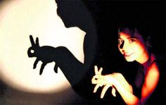 Shadow Puppets With Hands, Hand Shadows, Shadow Art, Family Crafts, Hand Art, Red Riding Hood, Light And Shadow, Some Pictures, Art World