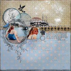 Waltzing Through Life...Lovely layout by Pam