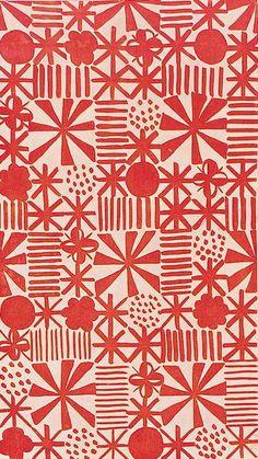 Jacqueline Groag; Textile Design, 1930.