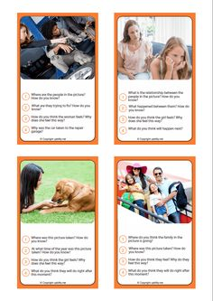 Ready-to-use therapy material to foster key social skills and the ability to make social inferences. Speech Language Therapy, Speech Therapy Activities, Speech And Language, Social Games, Social Skills, Contextual Clues, Inference Pictures, Social Pictures, Morning Activities