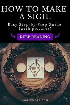 Want to learn how to make a sigil? A sigil is a symbol you create with the intention of changing your reality and manifesting your desires. Sigil magic is simple but powerful! Learn how to use and make a sigil in this article . Wiccan Spell Book, Wiccan Spells, Magic Spells, Spell Books, Wiccan Quotes, Wiccan Symbols, Witch Spell, How To Make Sigils, Witchcraft For Beginners