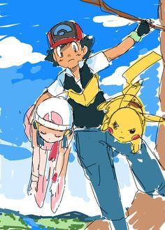Pokemon Tv, Pokemon People, Pokemon Ships, Ash And Dawn, Ash Ketchum, My Hero Academia, Dragon Ball, Maya, Cool Pictures