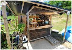 Pallet Beach Bar DIY Pallet Bars