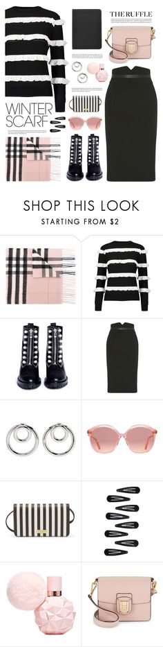 """""""Wrapper's Delight: Winter Scarf"""" by catchsomeraes ❤ liked on Polyvore featuring Burberry, YAL New York, 3.1 Phillip Lim, Karen Millen, Alexander Wang, Gucci, Henri Bendel, Forever 21, Sam Edelman and Marc Jacobs"""