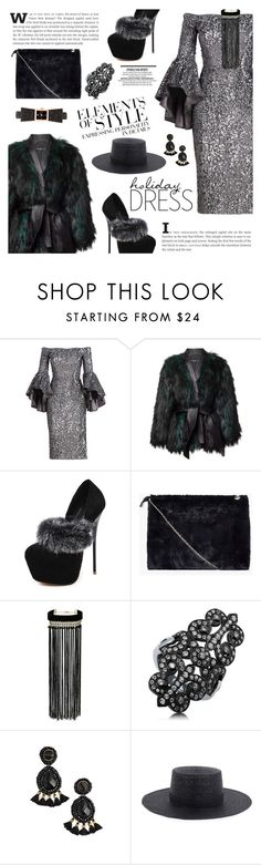 """""""Perfect Party Dress"""" by sinesnsingularities ❤ liked on Polyvore featuring Milly, Balmain, Vera Wang, Boohoo, Miss Selfridge, BERRICLE, Panacea, Janessa Leone, Kate Spade and contest"""
