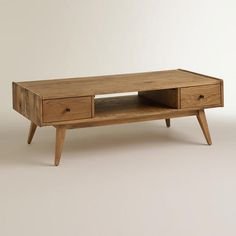 One of my favorite discoveries at WorldMarket.com: Lawrence Coffee Table