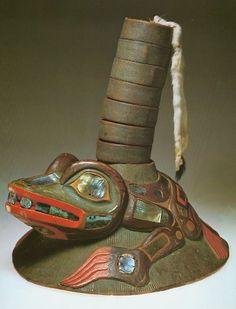 Tlingit Kiks.adi Frog Clan Hat