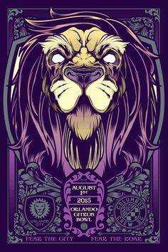 Gameday Poster - Columbus Crew 2 - 2015 | Orlando City Soccer Club