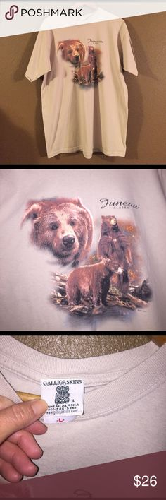 Juneau Alaska t shirt Dated 1999. Size large. Still in great condition! Vintage Tops Tees - Short Sleeve