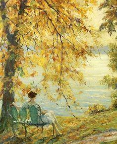 Sunny Morning - Edward Cucuel