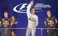 Blog Esportivo do Suíço: Hamilton aproveita problema de Rosberg, vence em Cingapura e é o novo líder do Mundial
