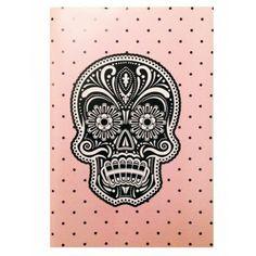 Cuaderno Grande Calavera by Oh! Diseños