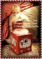 """Terrye French Designs """"Painting with Friends"""".: Martha Smalley - """"Christmas on Santy's Farm"""", http://paintingwithfriends.blogspot.com"""