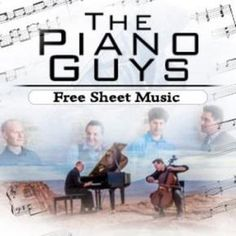 The Piano Guys Sheet Music #Piano