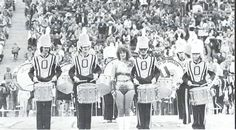 Oregon marching band at Autzen Stadium 1978. From the 1979 Oregana (University of Oregon yearbook). www.CampusAttic.com