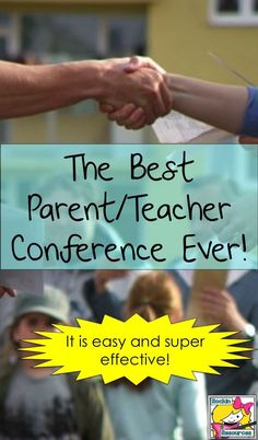 This way of conducting a parent/teacher conference time is easy and super effective!  You will be amazed at the results of this approach!  Click to read more!