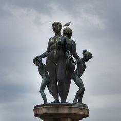 oslo | norge | rådhusplassen | fonteneskulptur på synken | lie