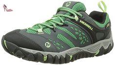 Merrell - All Out Blaze Vent GTX - Chaussure de randonnée - Basse - Femme - Vert (Bright Green) - 38 EU (5 UK) - Chaussures merrell (*Partner-Link)