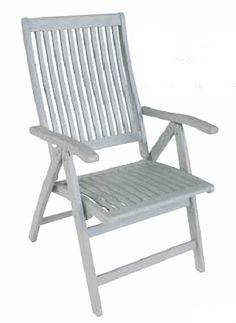 Πολυθρόνα πτυσσόμενη ψηλή 5 θεσεων Outdoor Chairs, Outdoor Furniture, Outdoor Decor, Folding Chair, Garden, Home Decor, Timber Wood, Homes, Garten