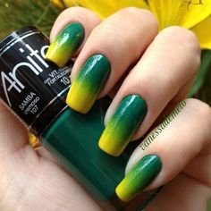 Unhas decoradas para a Copa: 55 ideias para torcer de corpo e alma Nails Inspiration, Pedicure, Manicures, World Cup, Nail Art Designs, My Nails, Brazil, Erika, Finger