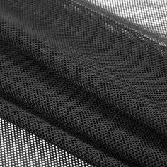 Rag & Bone Black Polyester Netting Fabric by the Yard | Mood Fabrics