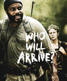 The Walking Dead // season 4 finale promo poster.