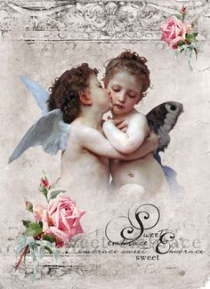 Angels Digital collage p1022 Free for personal use <3