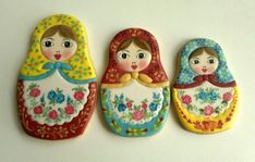 Matryoshka dolls | Cookie Connection