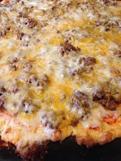 Better than fathead pizza crust