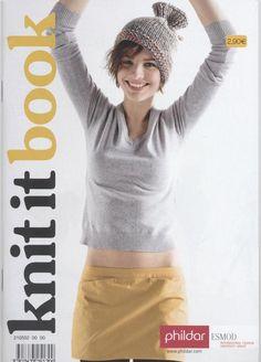 Catalogue Phildar N°552 Knit It Book Automne-Hiver 2008-2009