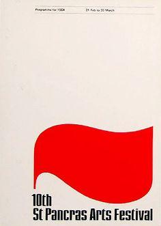 ken garland & associates:graphic design:saint pancras/camden arts festivals