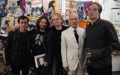 Michael Stipe, Bill Berry, Peter Buck, Mike Mills and Eddie Vedder