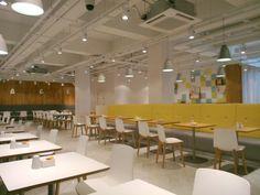 ENEA furnishes the Restaurant on 5, at Debenhams in Oxford Street, UK (2014).