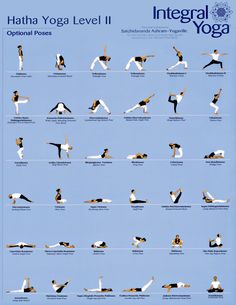 YOGA CLASS CHARTS  CLICK ON CHARTS TO ENLARGE