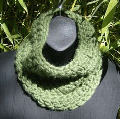 Fall and Winter 2012  Crocheted Green by soleilcrochet on Etsy, $16.00