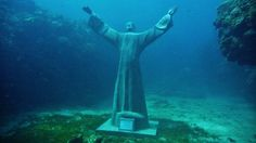 statues underwater - Google Search