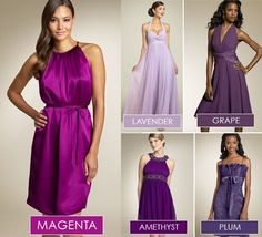 Making It Work (Bridesmaid Dresses Part I) :  wedding bridesmaid dress providence Purple purple_