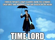 Mary Poppins.....Time Lord