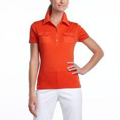 orange polo sizes 8-10
