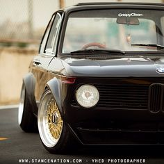 """Check out our latest feature of this beautiful BMW 2002 by visiting www.StanceNation.com! #yhedphoto #crispyclean #stancenation"""