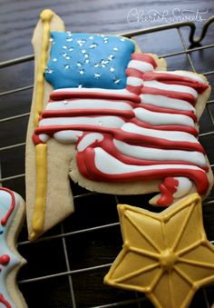 4049d3b7c29c 40 Best Decorated Cookies ~ 4th of July images