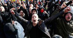 Protesto contra imigrantes tumultua homenagem às vítimas em Bruxelas