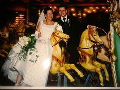 Marleen maakte in 2002 haar trouwfoto's in de Efteling
