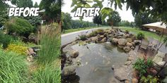 Before & After of a pond removal & rebuild we did in Dillsburg, PA. This Pond Project included removal of existing pond and various plants in the driveway island. We housed the koi in tanks until the pond was complete. We installed a 15′ wide pond at its widest point and 20? long pond at …