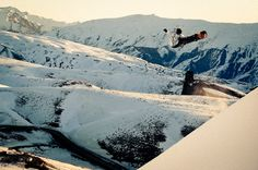 At least he can see the landing! #EnjoyTheRide #Quiksilver