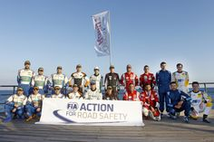 FIA Action for the Road Safety during the 2016 European Rally Championship ERC Cyprus Rally,  from october  7 to 9  at Nicosie, Cyprus - Photo Gregory Lenormand / DPPI