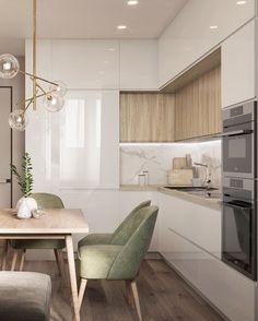 Kitchen Room Design, Modern Kitchen Design, Dining Room Design, Home Decor Kitchen, Kitchen Interior, Room Interior, Interior Exterior, Modern Interior, Home Interior Design