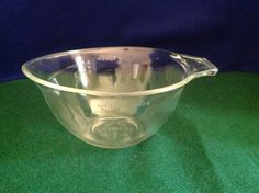 Pyrex Embossed 1 1/2 Pint/3 Cup Batter Bowl With by FindorCollect