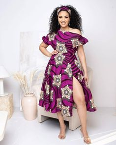 Short Ankara Gown Outfits